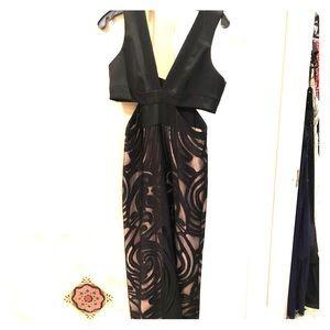 BCBG Black Tie Long Dress.  Worn once